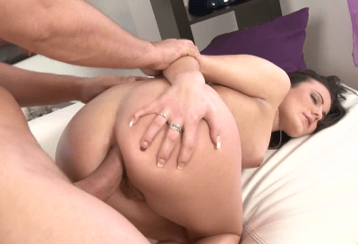 Pinky first anal